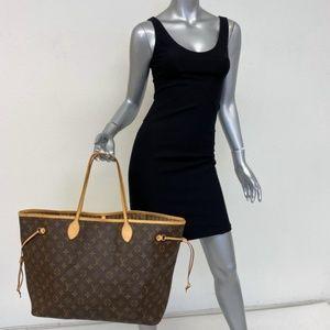 Louis Vuitton Neverfull GM Tote Ebony Monogram